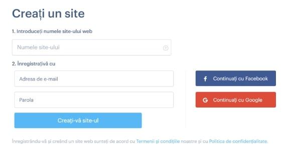 Alegerea numelui siteului