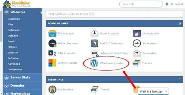 Instalarea Site-ului pe WordPress