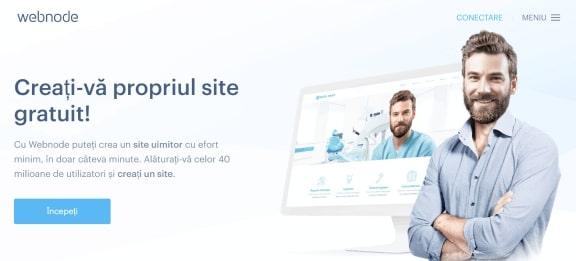 Inregistrare pe site-ul WebNode.ro