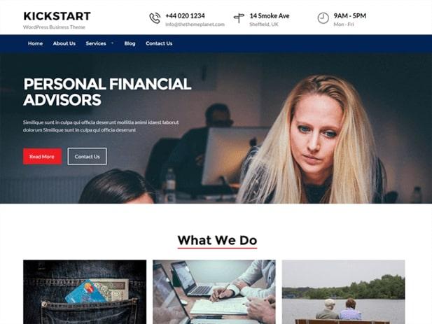 Site WordPress de Afaceri